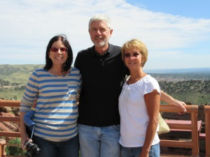 Jane, Rich, and Heidi at Red Rocks
